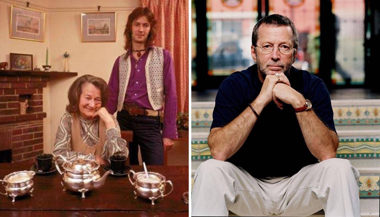 Eric Clapton je odrastao misleći da mu je mama zapravo sestra