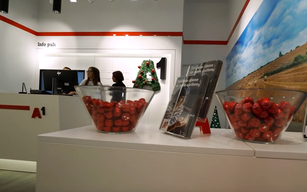 Korisnici u prvom planu: Otvoren potpuno digitalizirani A1 shop