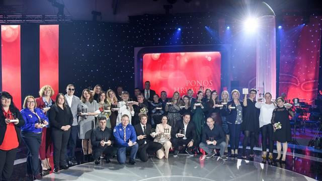 Zagreb: Svečana 15. dodjela nagrade Ponos Hrvatske