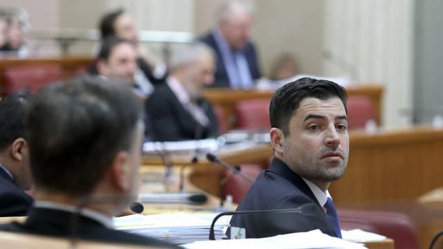 Zagreb: U Saboru nastavljeno temom o Zakonu o državnim službenicima