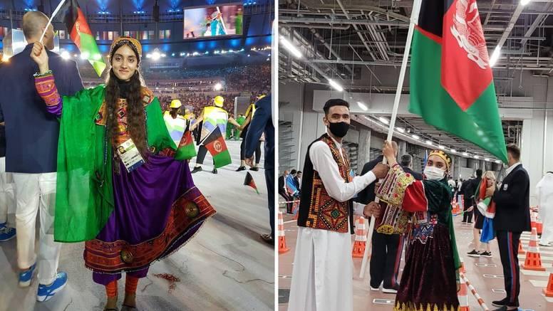 Dirljiva poruka afganistanske olimpijke: Možda je ovo zadnji put da sam nosila zastavu na OI