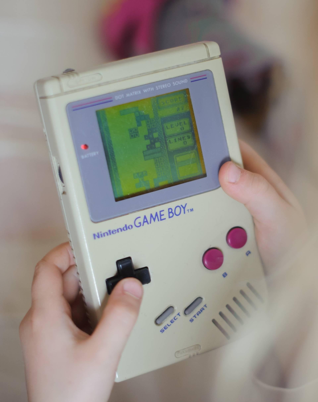 Video game Tetris