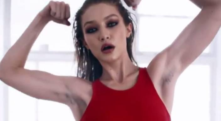 Gigi je dlakavih pazuha poput Madonne zgrozila obožavatelje