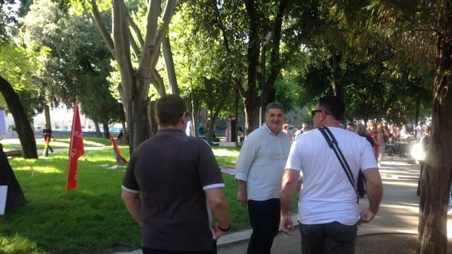 Baldasar s dva tjelohranitelja došao na Pride, nereda nije bilo