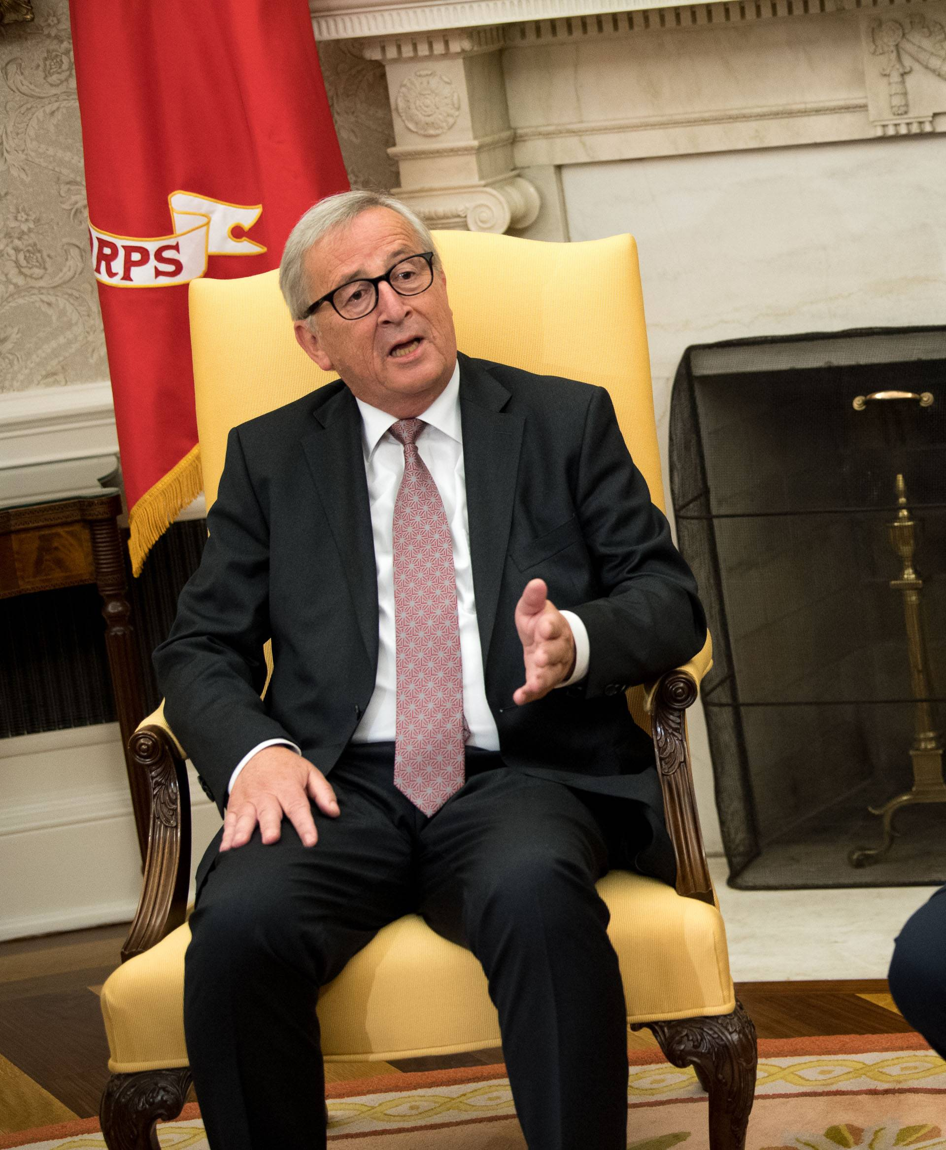 President Trump meets with President of the European Commission Jean-Claude Juncker at the White House
