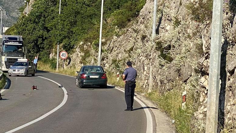 Nakon sudara s automobilom u Dubrovniku poginuo motociklist