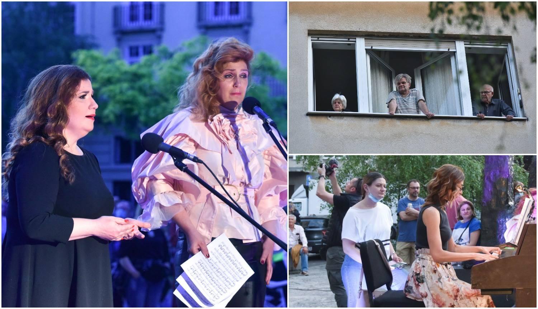 Iznenadile: Operne pjevačice su izvele koncert na otvorenom...