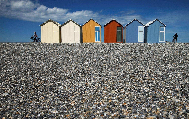 Cayeux-sur-Mer: Slatka plaža ponovno je otvorena za javnost