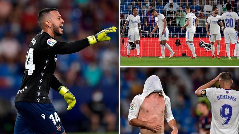 Real se izvukao bez Modrića! Golman Levantea dobio crveni, na golu ga zamijenio - stoper