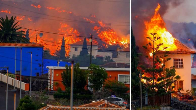 Pogledajte video: Vulkanska lava guta kuće na Kanarima