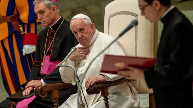 December 11, 2019 : Weekly general audience in Paul VI Hall, at the Vatican.