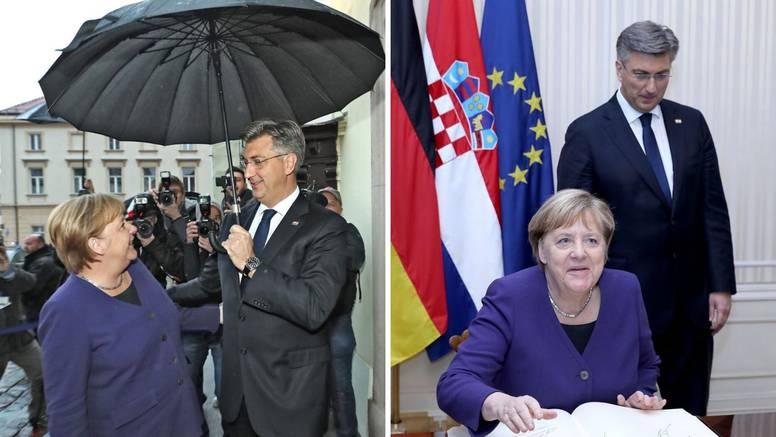 Merkel: Odajem vam priznanje za sve učinjeno oko Schengena