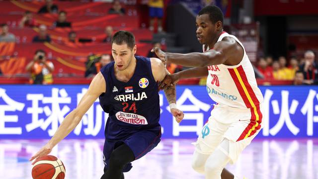 Basketball - FIBA World Cup - Angola v Serbia