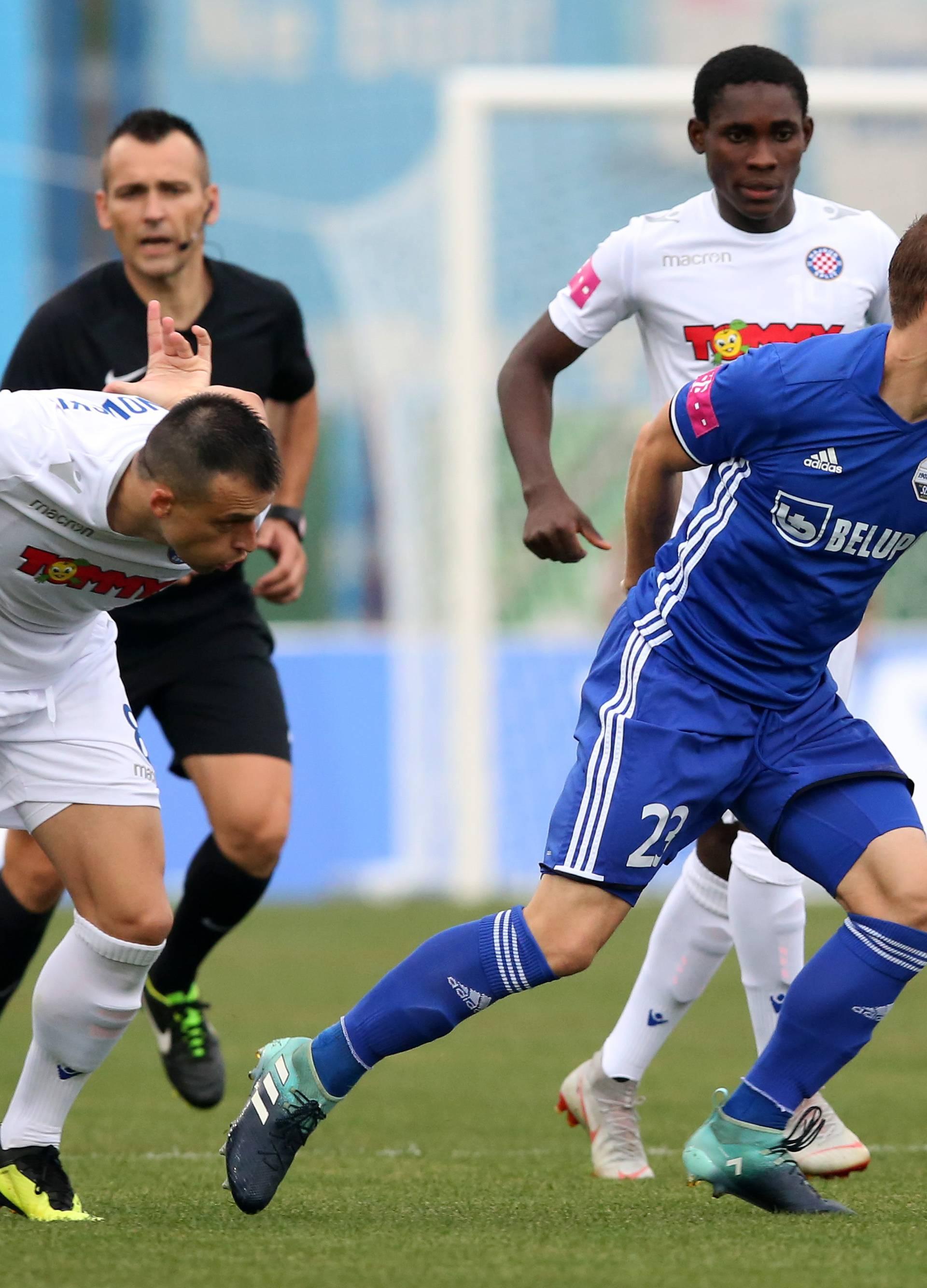 Neće pa neće... Hajdukovci su ostali bez slavlja i u Koprivnici