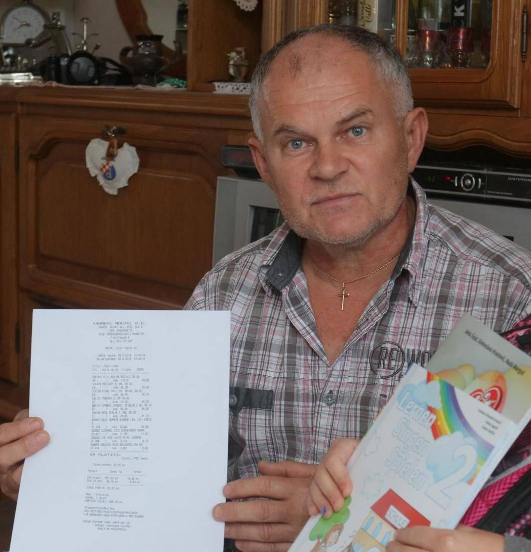Ostali bez 300 kuna za radne  bilježnice: 'To je diskriminacija'