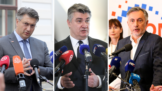 Plenković: Neuobičajeno je što Milanović neće doći na sjednicu, Škoro kaže da je u pitanju ego
