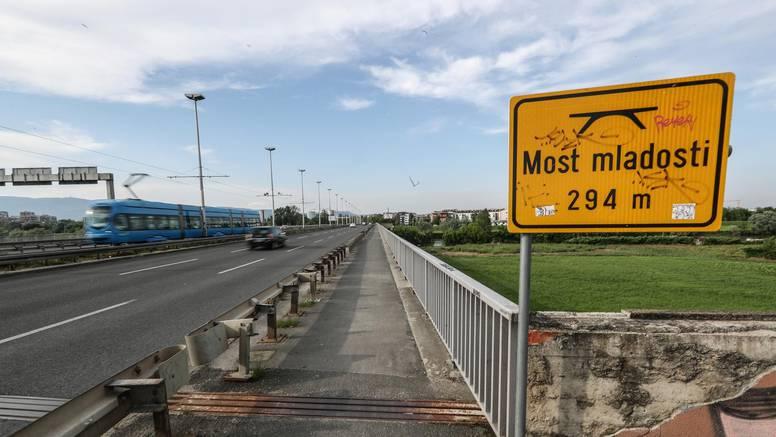 Zagrebački Most mladosti sutra se ponovo otvara za promet
