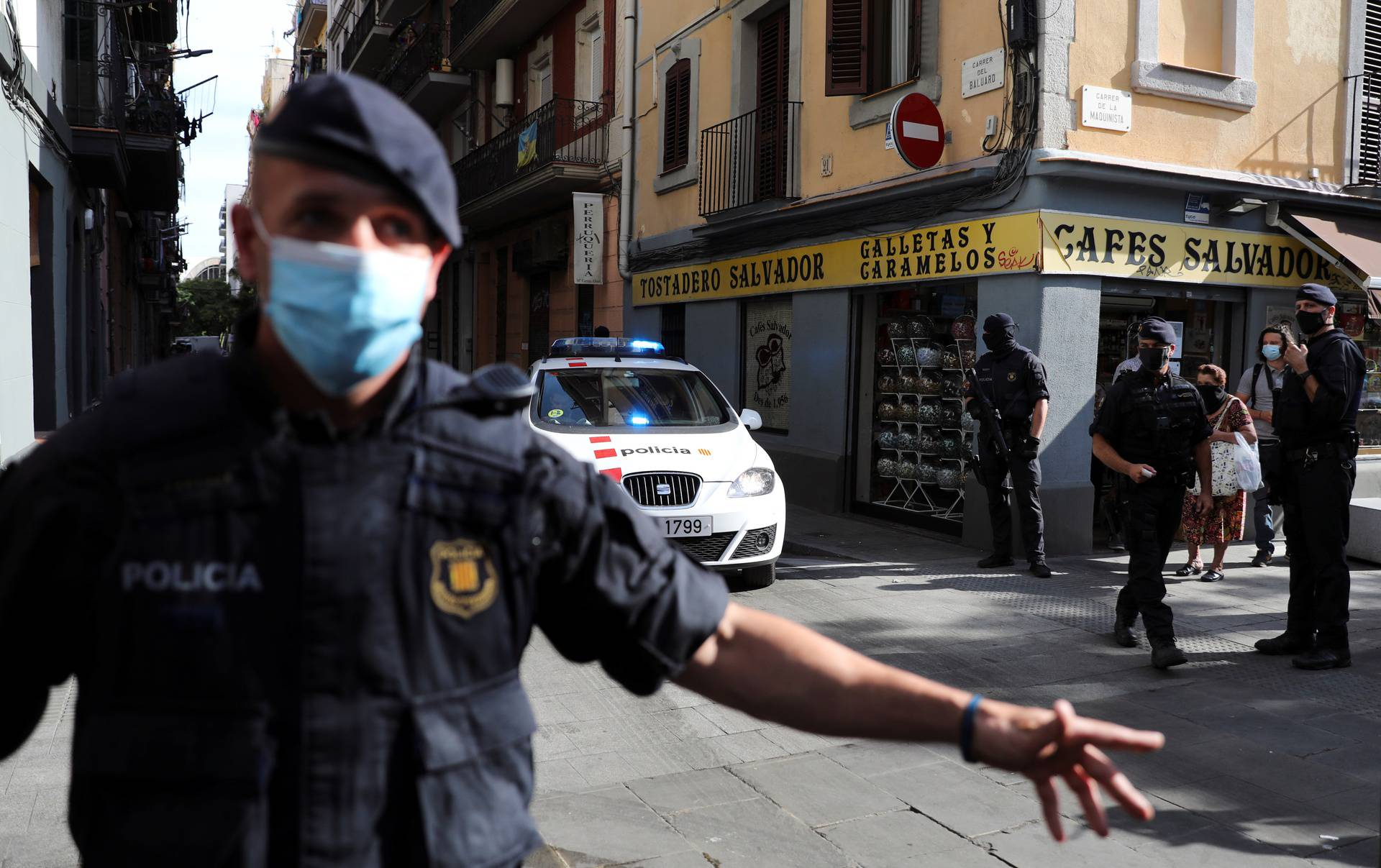 Anti-terrorism operation in Barcelona