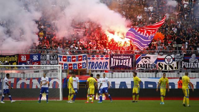 Split: Hrvatski Telekom Prva liga, 9. kolo, HNK Hajduk - NK Inter Zapresic