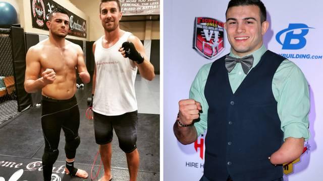 Borac nema ruku, ali došao je na prag ulaska u UFC-ov ring!