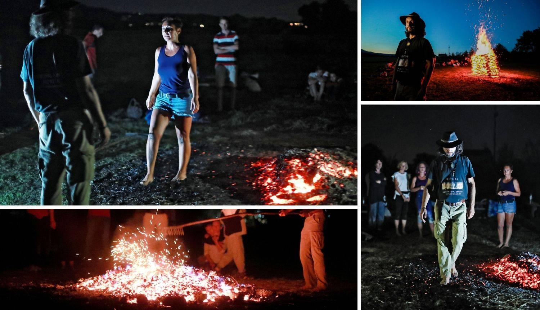 Ritual vatrenog tepiha: 'Uspjela sam bosa hodati po žeravici'