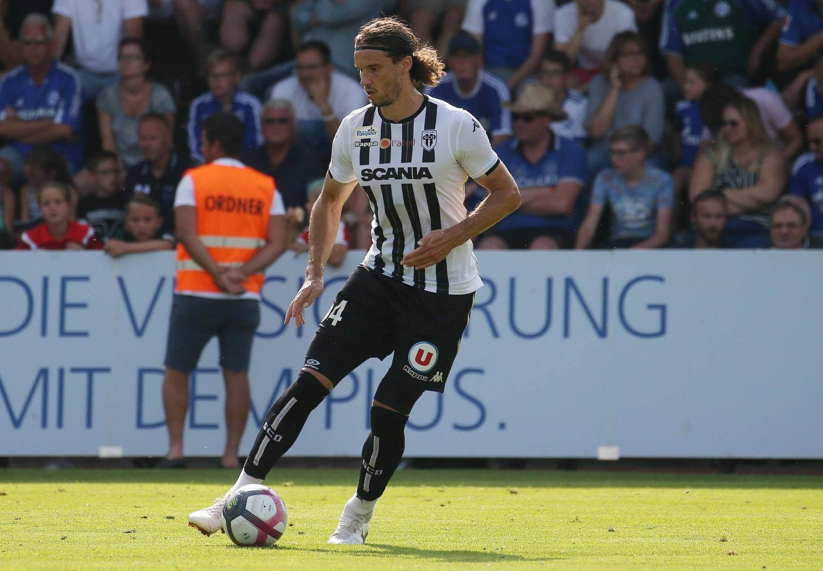 firo Football, Football, 05.08.2018 1st Bundesliga, season 2018/2019 Test match FC Schalke 04 - SCO Angers