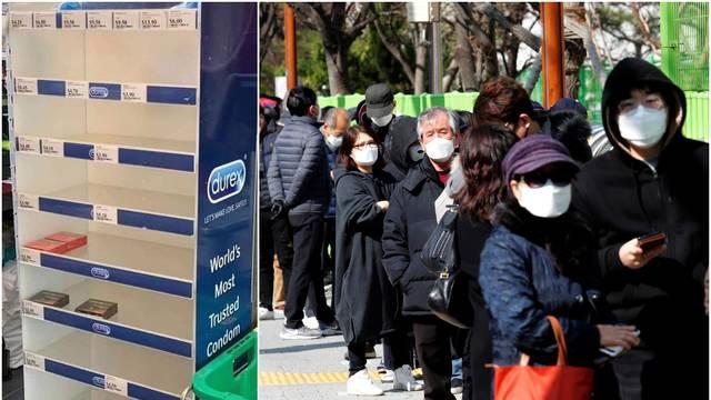 Rasprodali kondome: Misle da će ih zaštititi od korona virusa