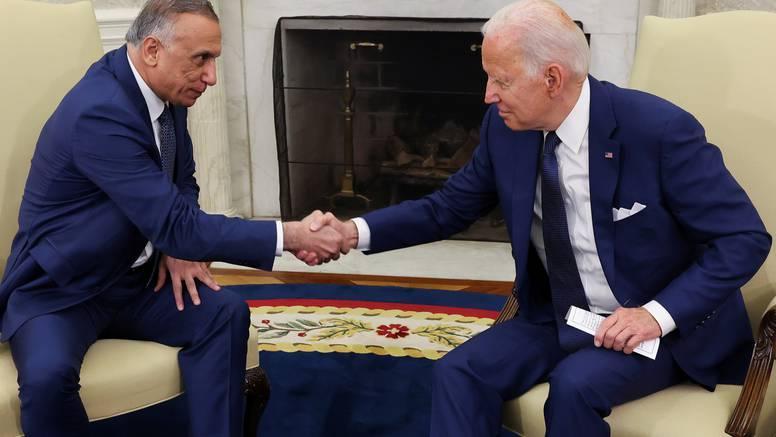 Biden i Kadhimi se dogovorili: Američka borbena misija u Iraku završava do kraja godine