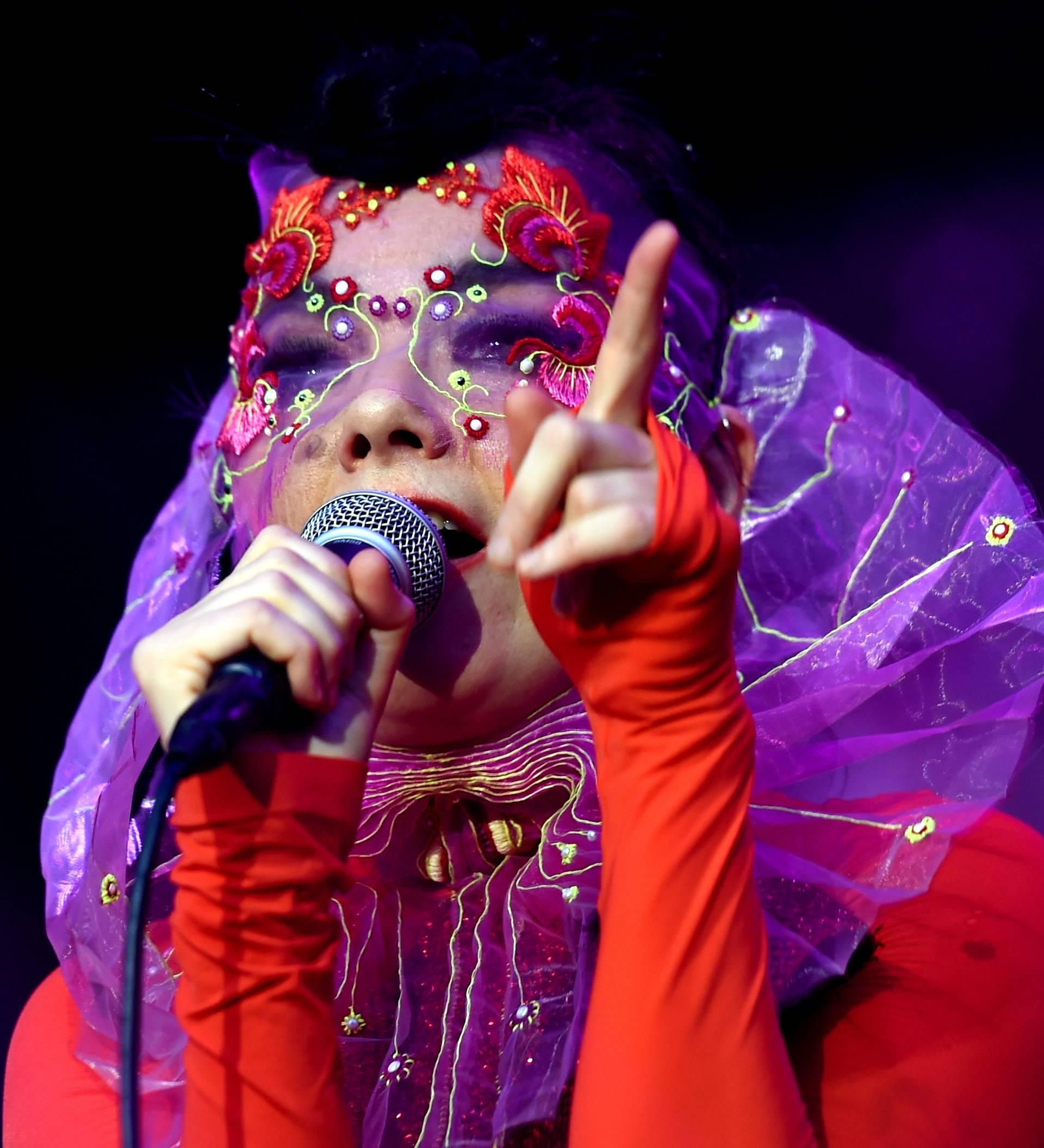 Björk concert in Berlin