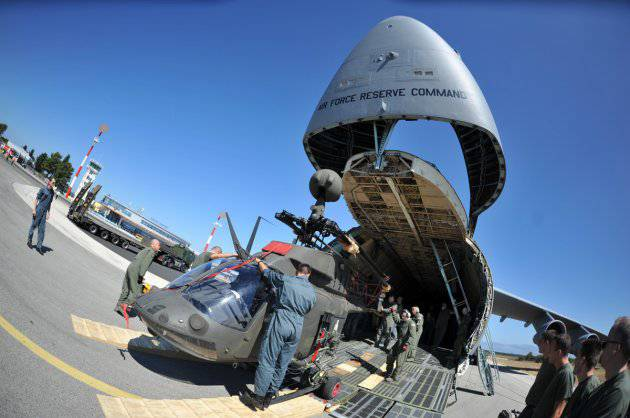 Vrijedna donacija: Amerikanci nam poslali vojne helikoptere