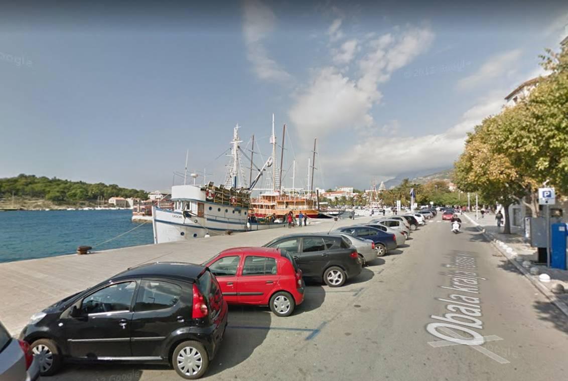 Makarska, Marineta / Screenshot: Google Maps