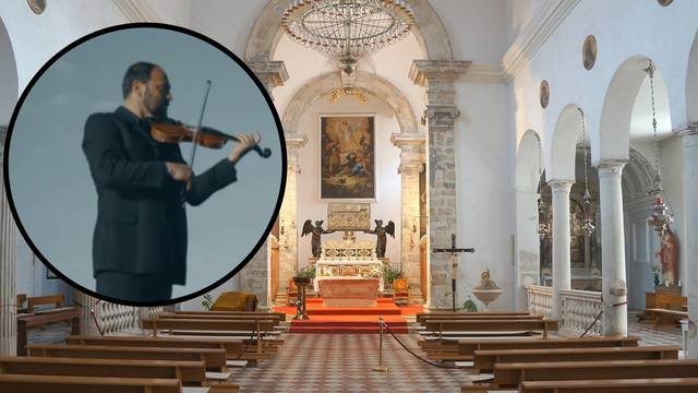 Domagoj je našao ukradenu violinu na školskom igralištu