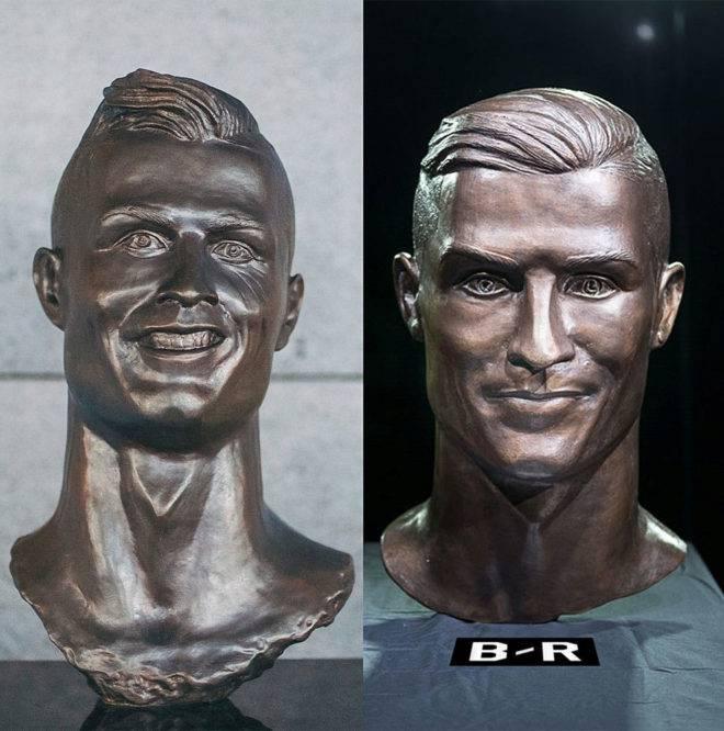 Sjećate se kipara koji je izradio Ronaldovu bistu? Popravio se...