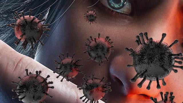 Ilustracija korona virusa