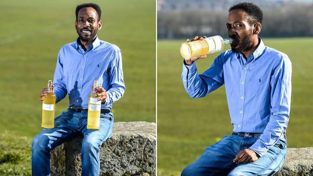 'Svako jutro popijem pola litre svog urina. To mi daje energiju'