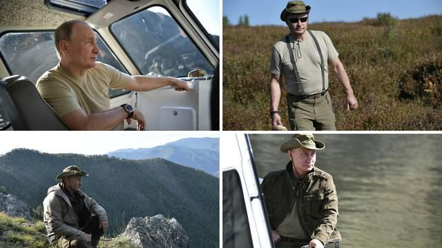 Putinov savršeni godišnji: Ovaj put nije pokazao snažna prsa...