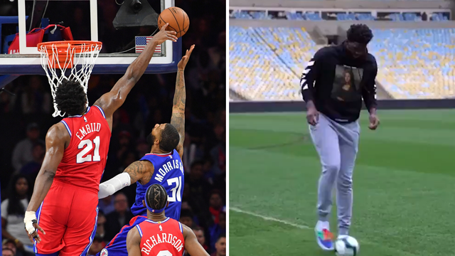 Vidi Embiida kako igra! NBA zvijezda tehnicira na Maracani