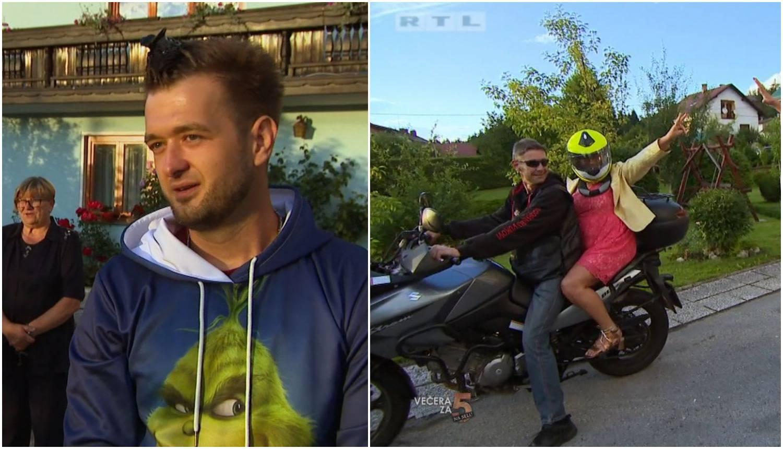 Davor pobijedio u showu, Kata s Edijem pobjegla na motoru...