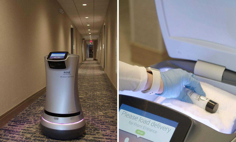 Hotel u Kaliforniji ima robota koji gostima dostavlja sve što im treba da izbjegnu kontakt
