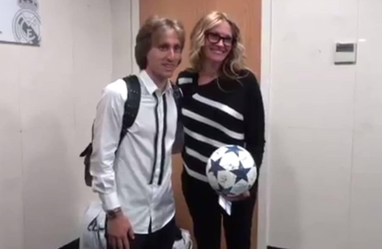 Zgodna žena u Madridu: Julia Roberts posjetila Luku i ekipu