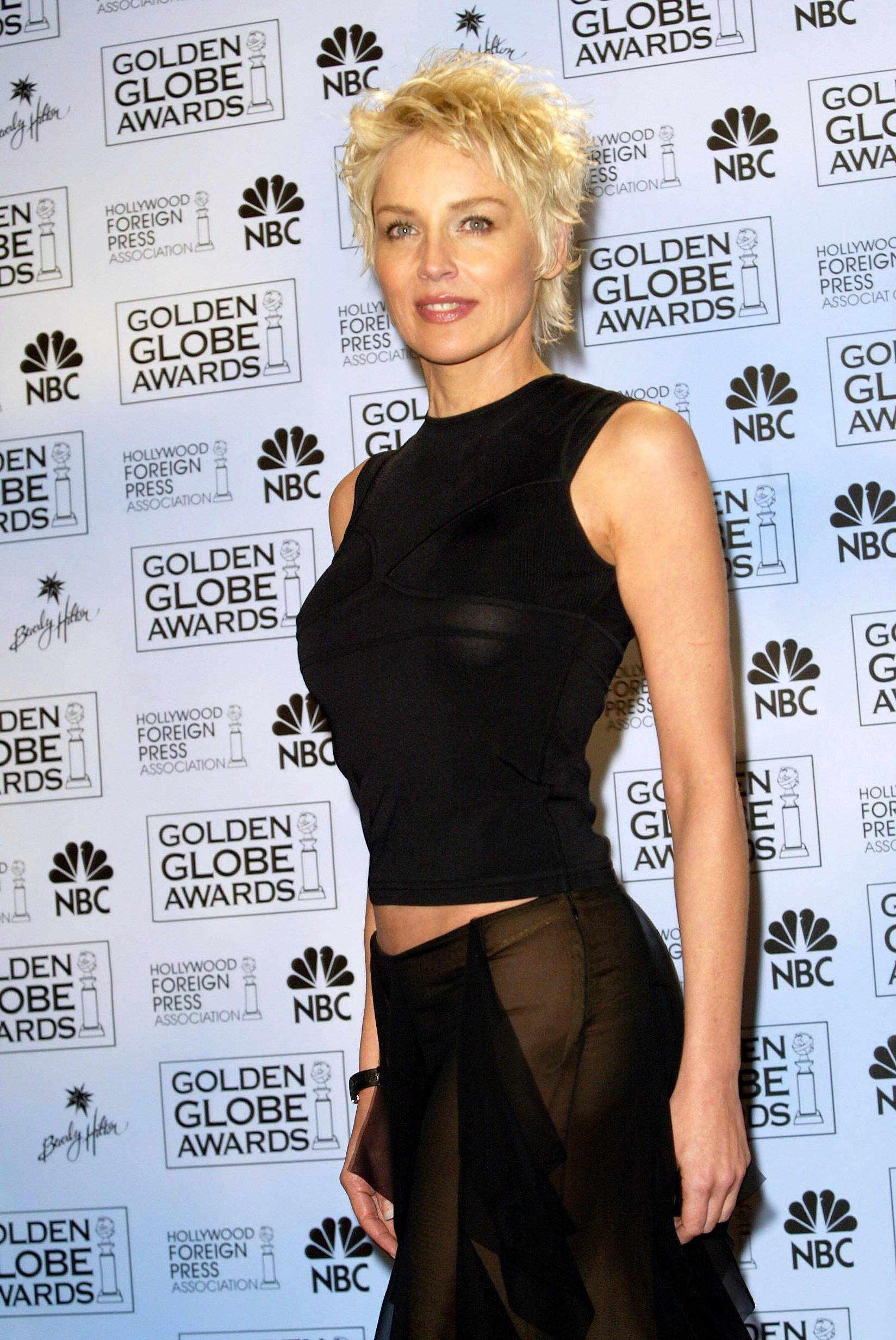 Golden Globes - Sharon Stone
