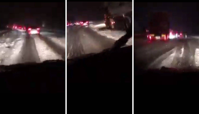 Snijeg zakrčio ceste: Kaotično na A6, HAK upozorava vozače