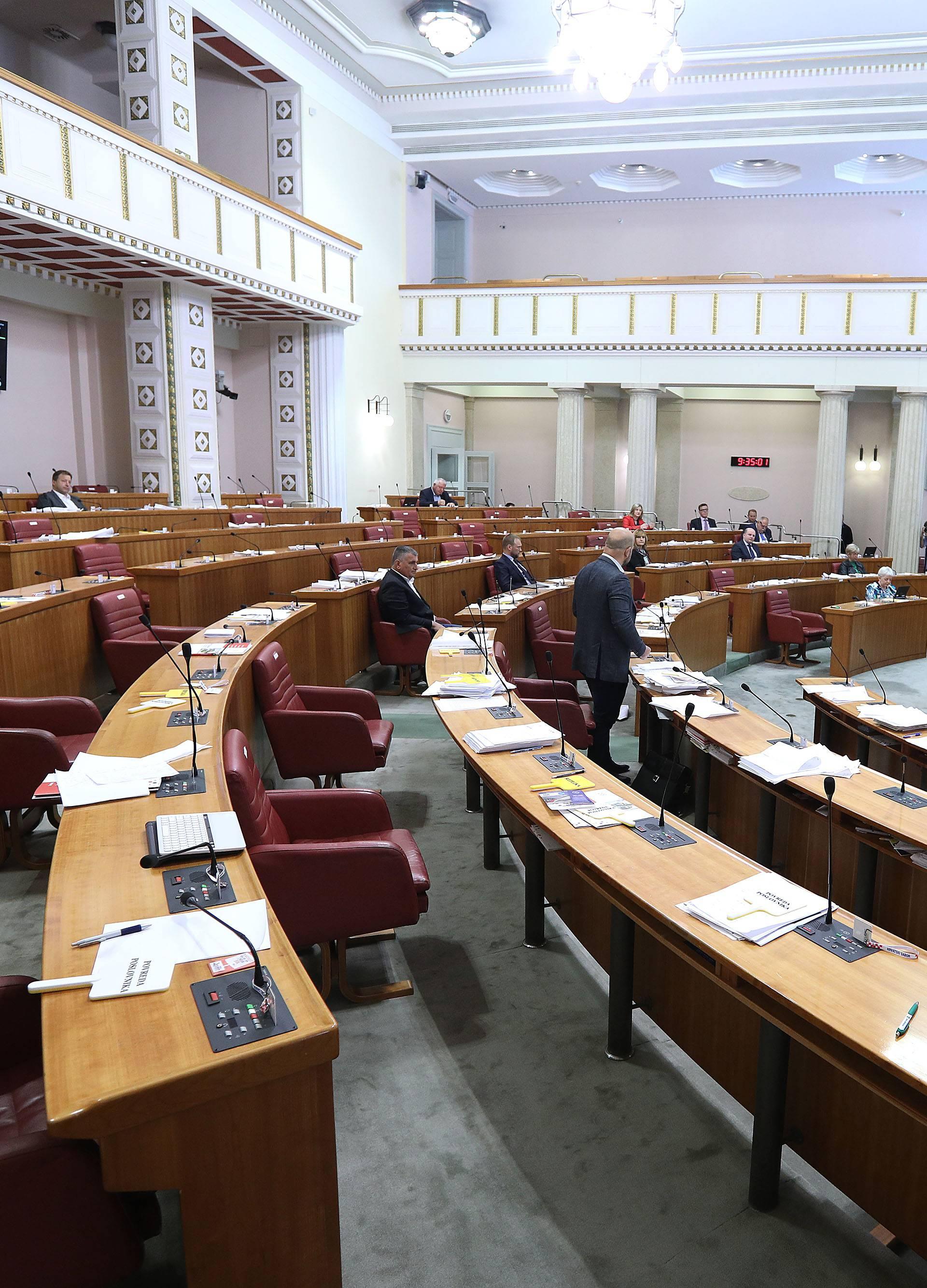 Zagreb: Sabor o prijedlogu zakona o nacionalnoj naknadi za starije osobe