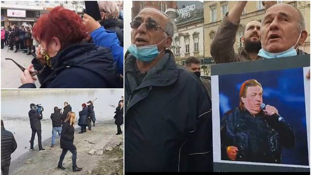 VIDEO Slavonija se uz tambure i suze oprostila od Kiće Slabinca