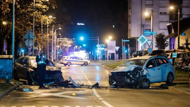 Zagreb: Policijski očevid prometne nesreće u naselju Špansko