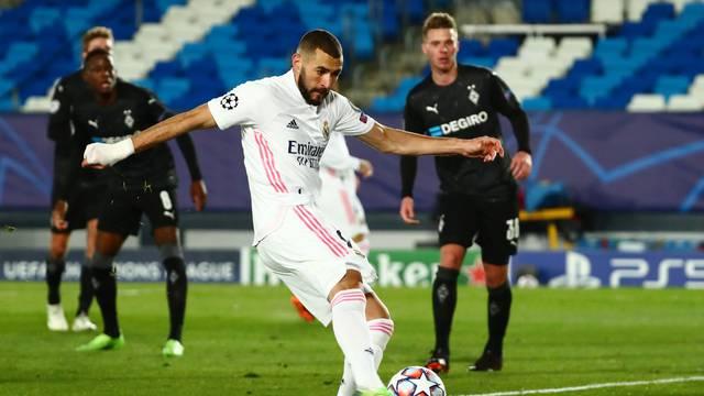Champions League - Group B - Real Madrid v Borussia Moenchengladbach