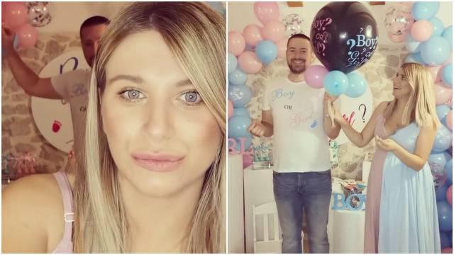 Valentina i Vatroslav bušenjem balona otkrili: Stiže nam dječak