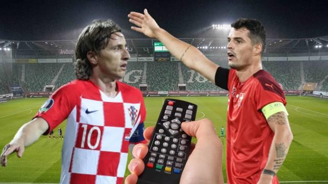 Priprema za Ligu nacija: Gdje gledati Hrvatsku i Švicarsku?