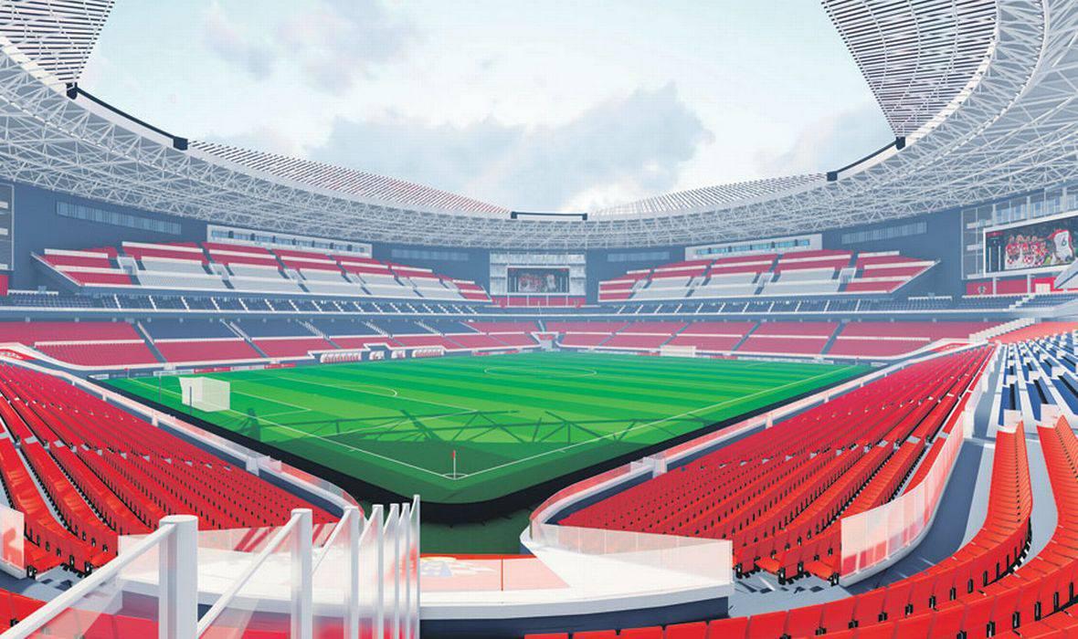 Ovo je novi stadion u V. Gorici. Koštat će do 105 milijuna eura