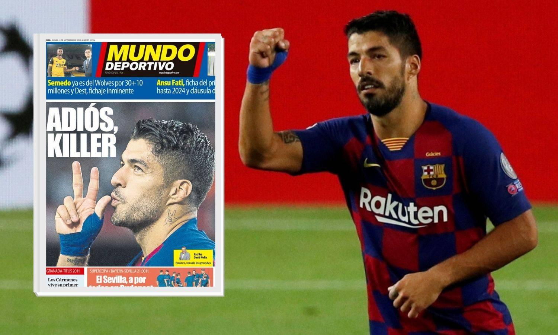 Suarez i službeno igrač Atletica! Oproštaj Munda: 'Adios, killer!'
